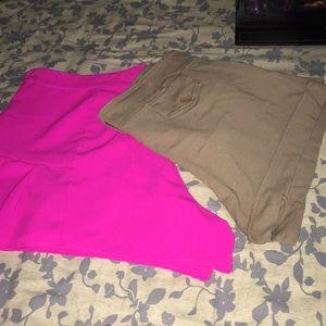 Women plus size shorts